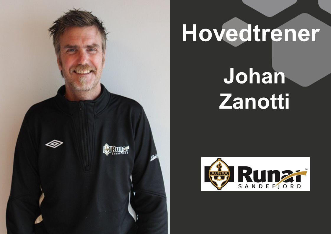 Hovedtrener Johan Zanotti