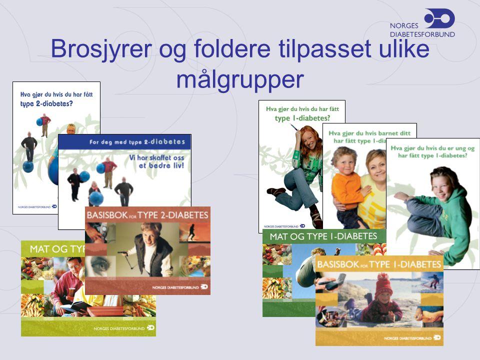 Brosjyrer og foldere tilpasset ulike målgrupper