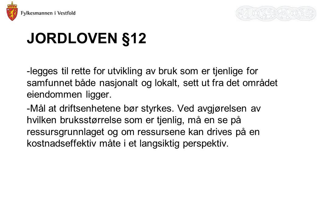 JORDLOVEN §12