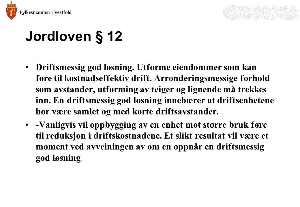 Jordloven § 12