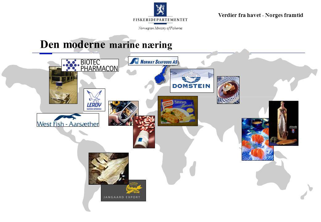Den moderne marine næring