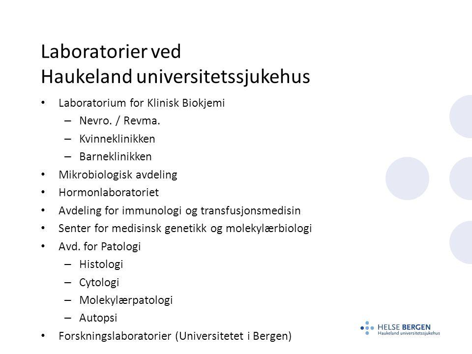 Laboratorier ved Haukeland universitetssjukehus