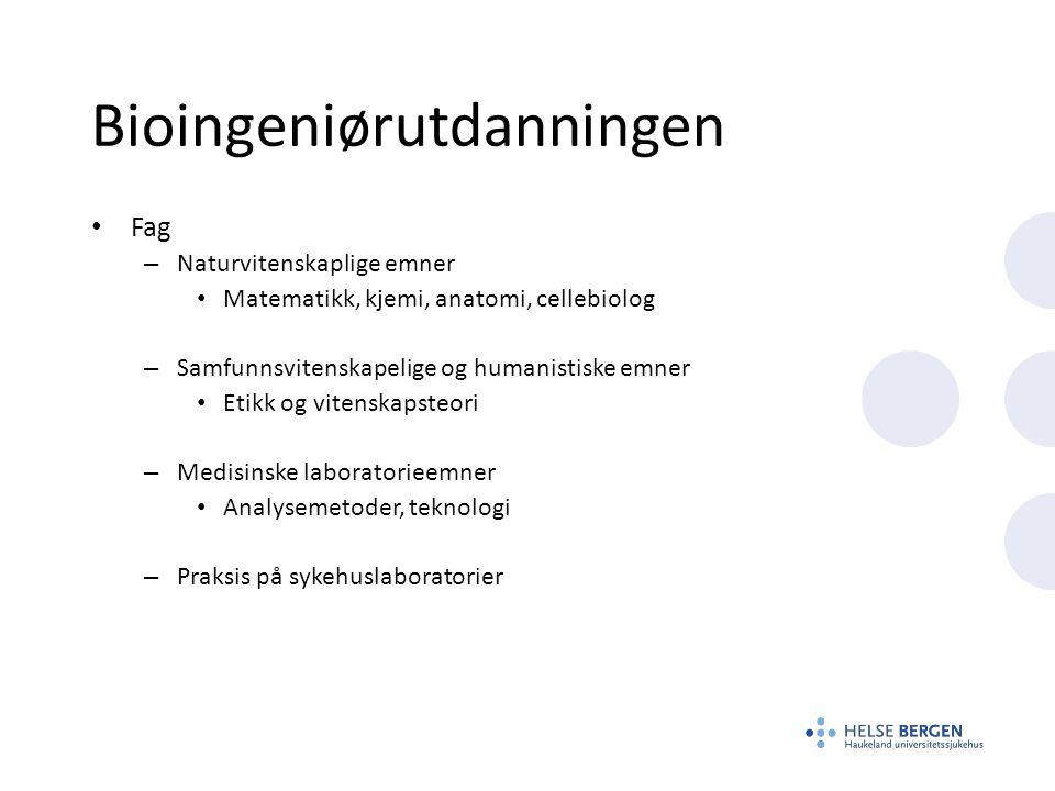 Bioingeniørutdanningen