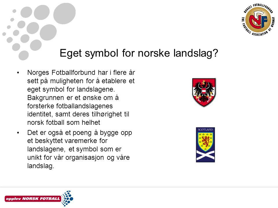 Eget symbol for norske landslag