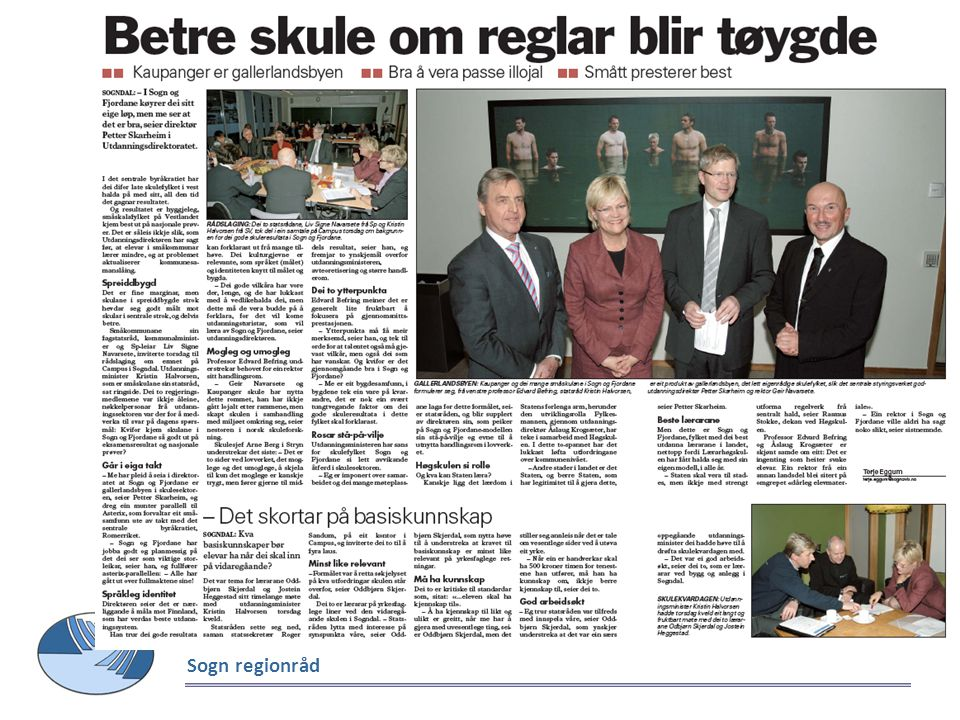 Sogn regionråd Sogn Avis måndag 06.12.2010