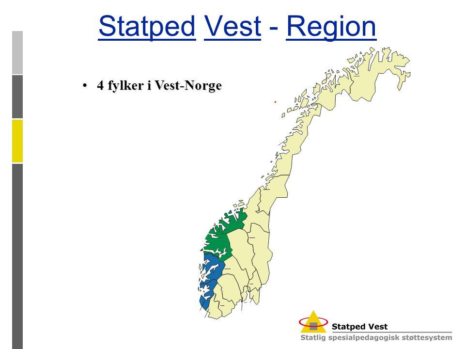 Statped Vest - Region 4 fylker i Vest-Norge