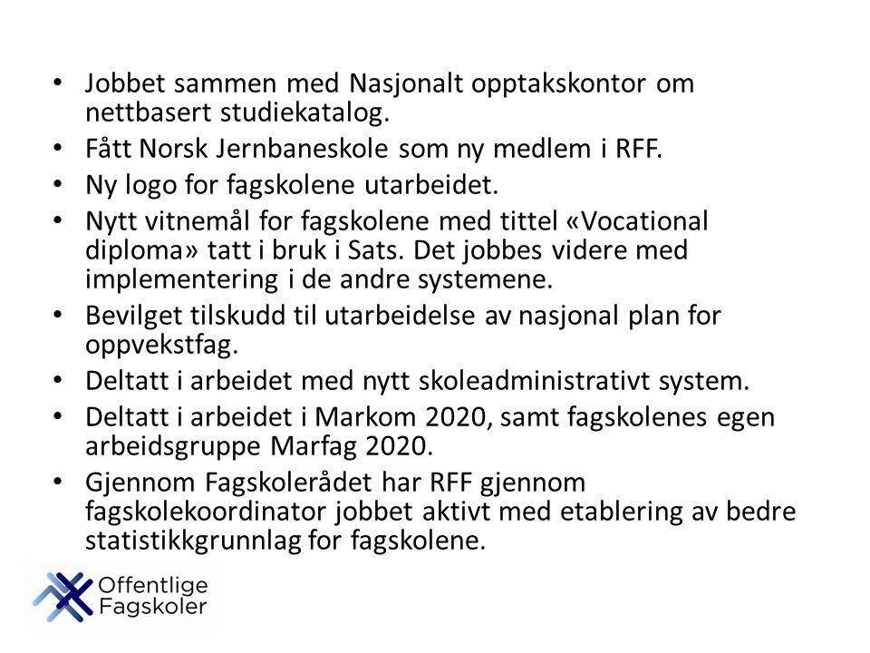 Jobbet sammen med Nasjonalt opptakskontor om nettbasert studiekatalog.
