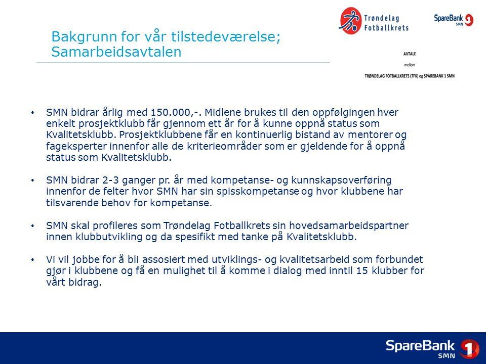 Bakgrunn for vår tilstedeværelse; Samarbeidsavtalen