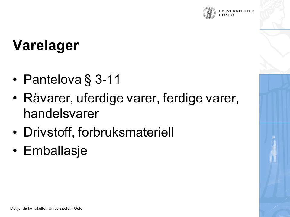 Varelager Pantelova § 3-11