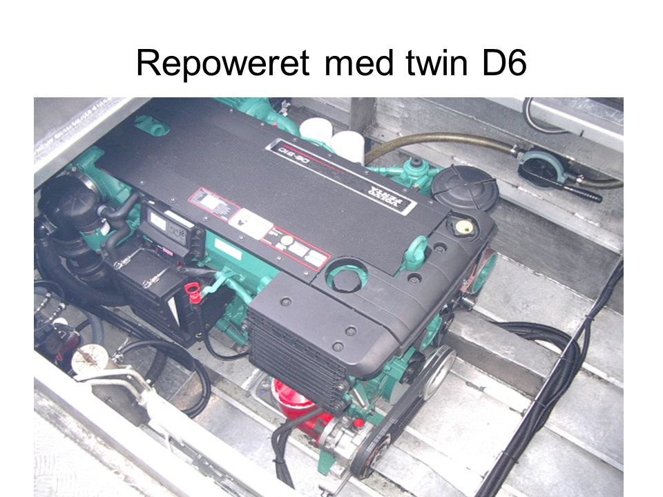 Repoweret med twin D6