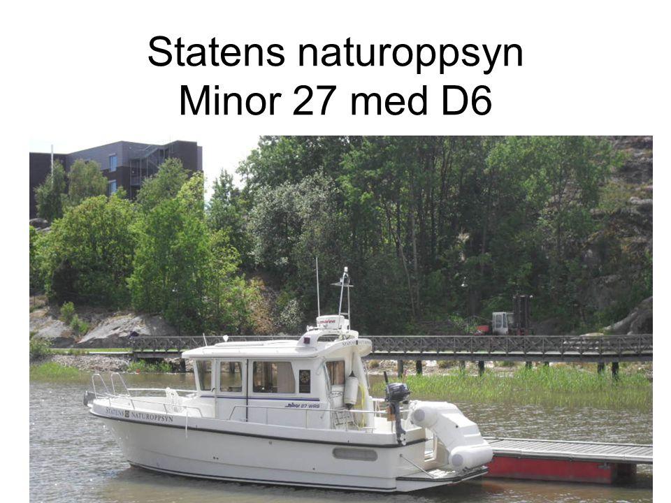 Statens naturoppsyn Minor 27 med D6