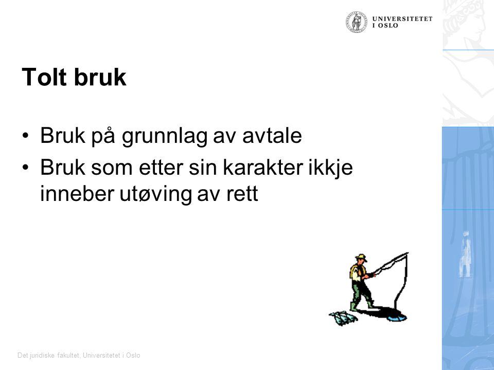 Tolt bruk Bruk på grunnlag av avtale