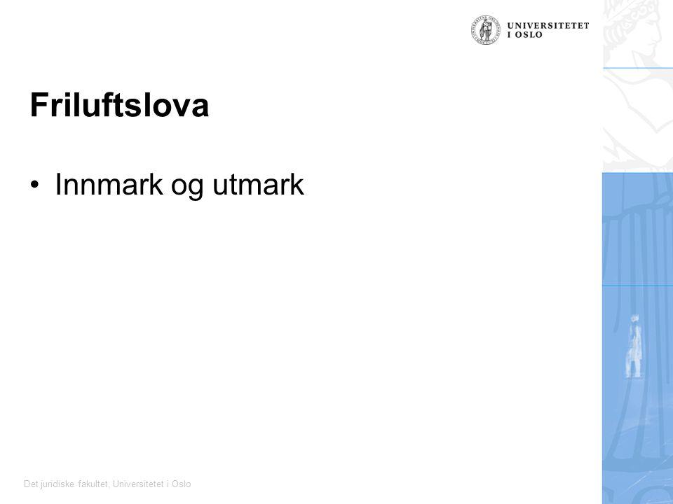 Friluftslova Innmark og utmark