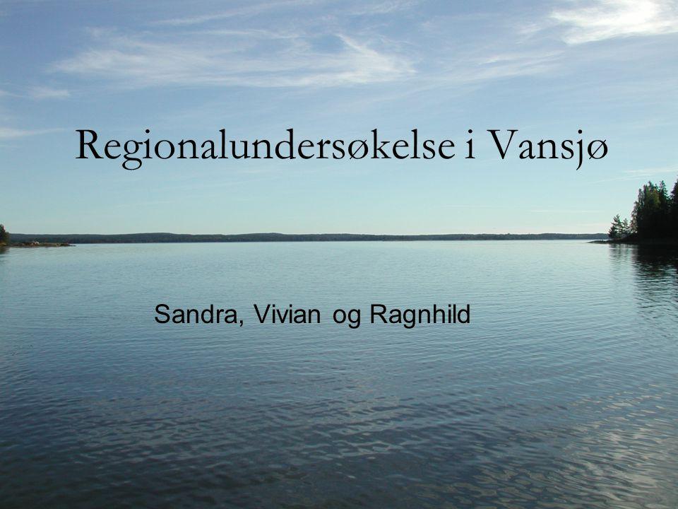 Regionalundersøkelse i Vansjø