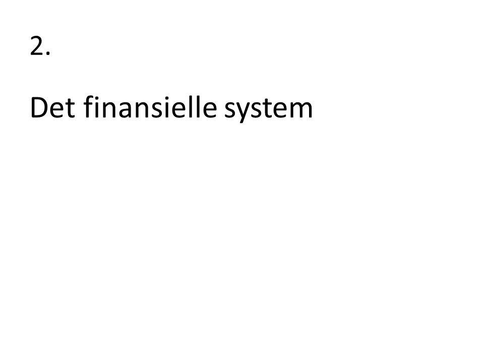 Det finansielle system