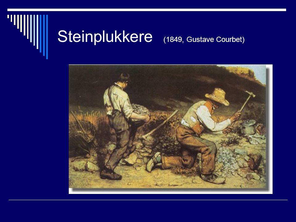 Steinplukkere (1849, Gustave Courbet)