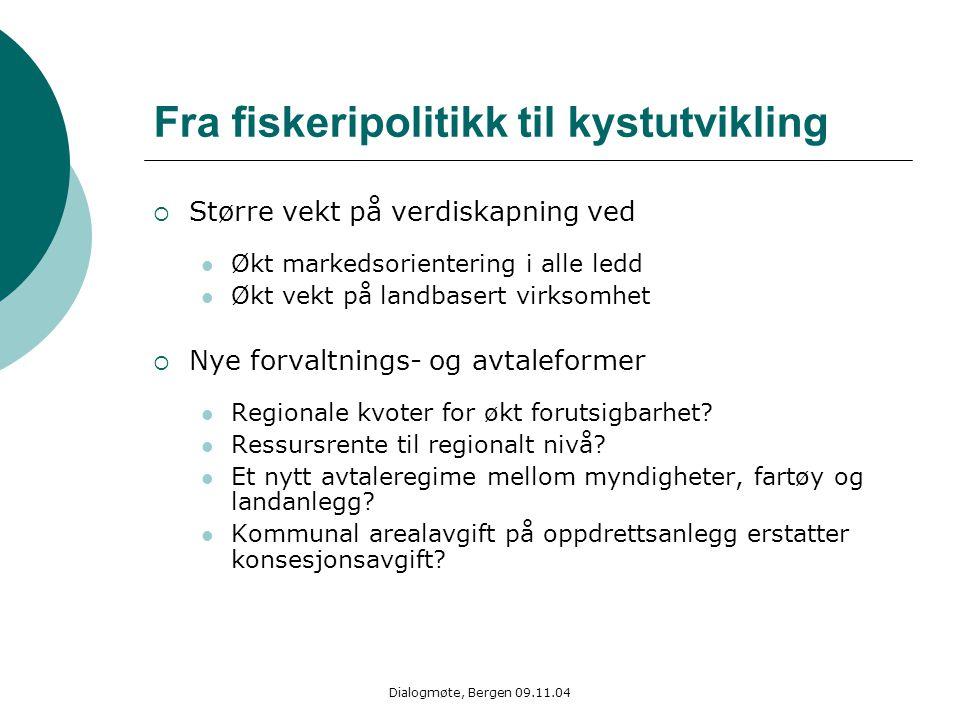 Fra fiskeripolitikk til kystutvikling