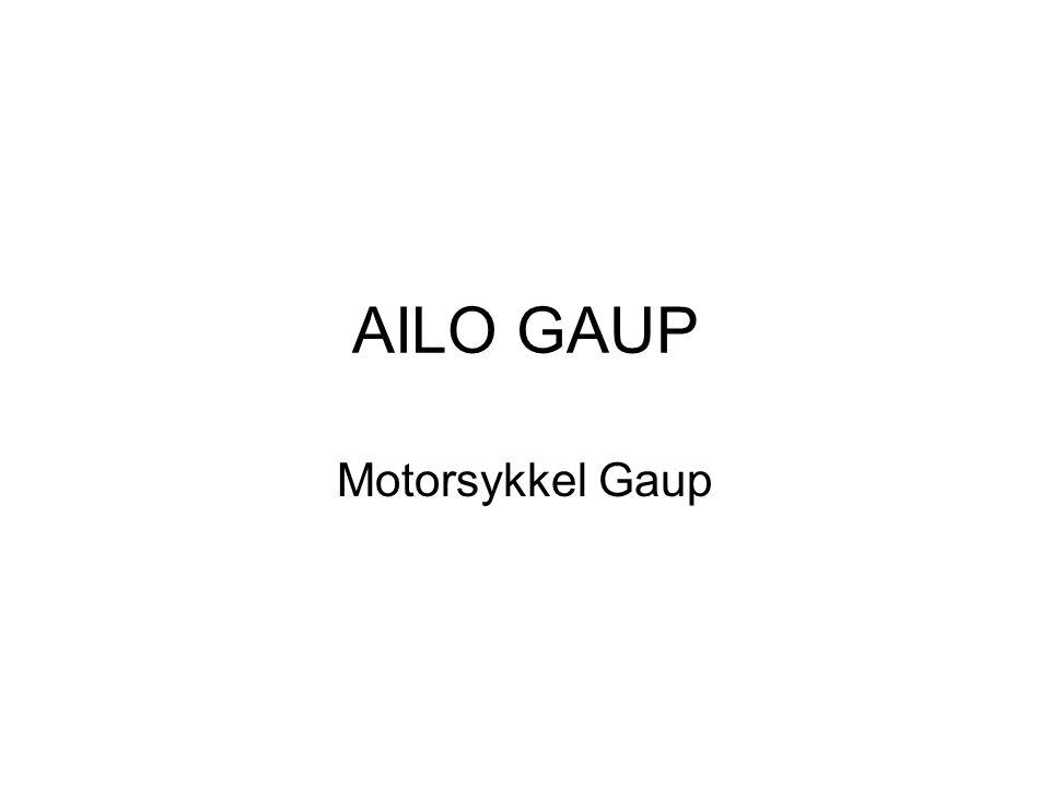 AILO GAUP Motorsykkel Gaup