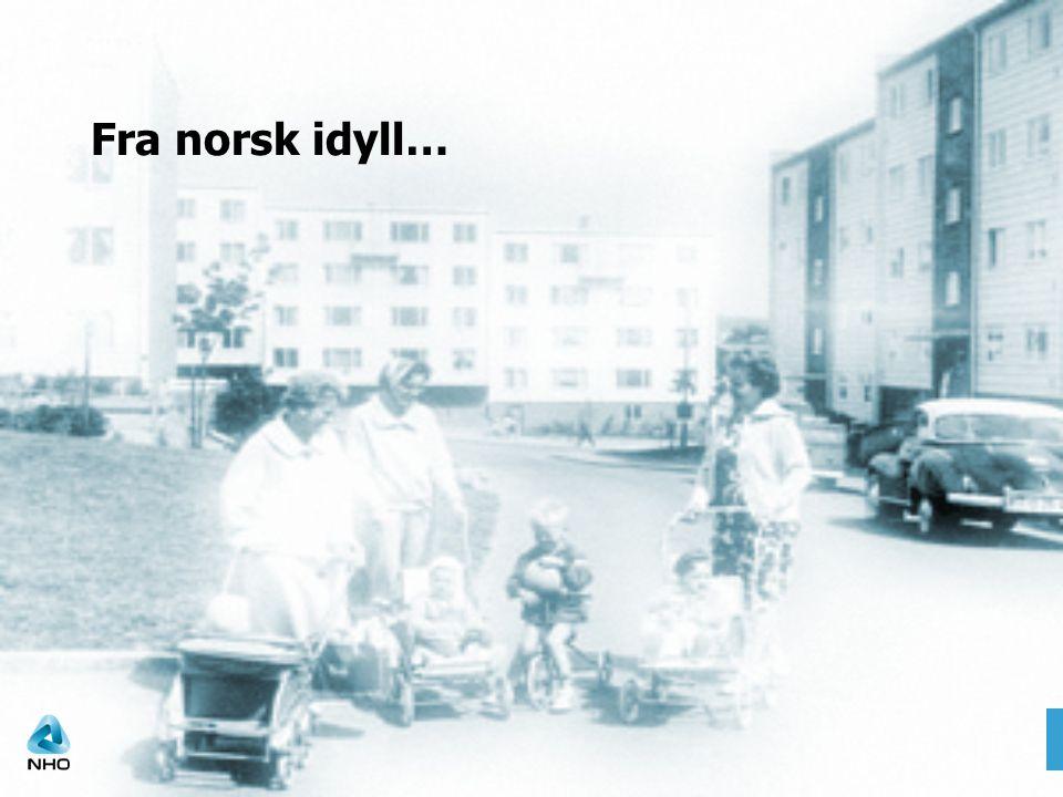 Fra norsk idyll… Arkivfoto fra Oslo bymuseum, lånt fra www.prifo.no