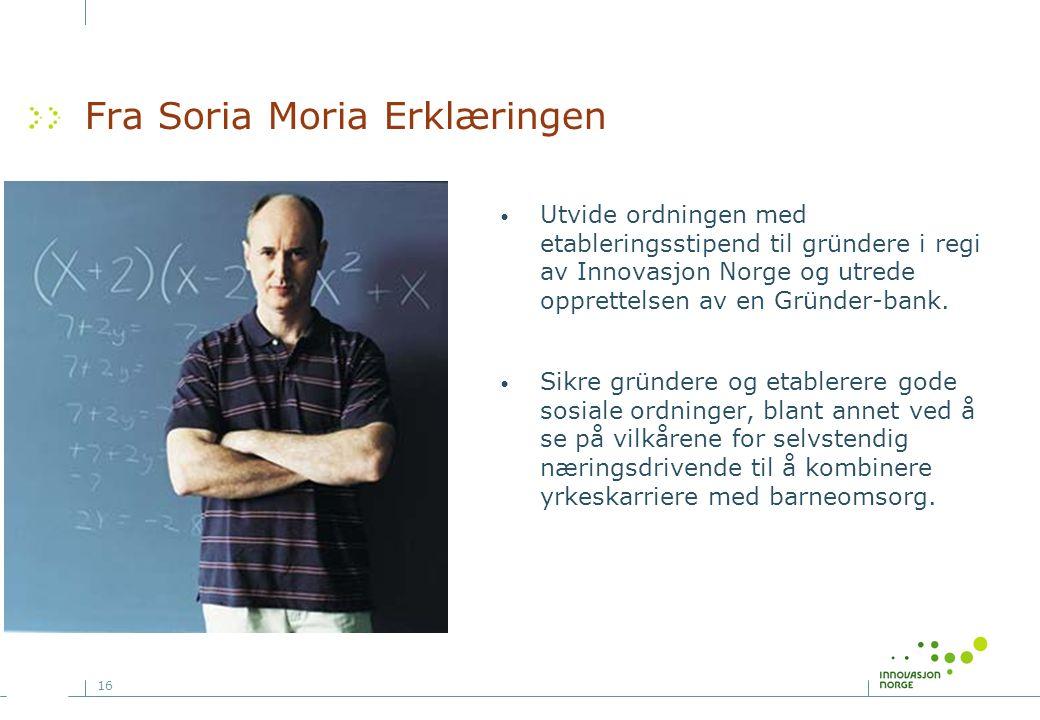 Fra Soria Moria Erklæringen