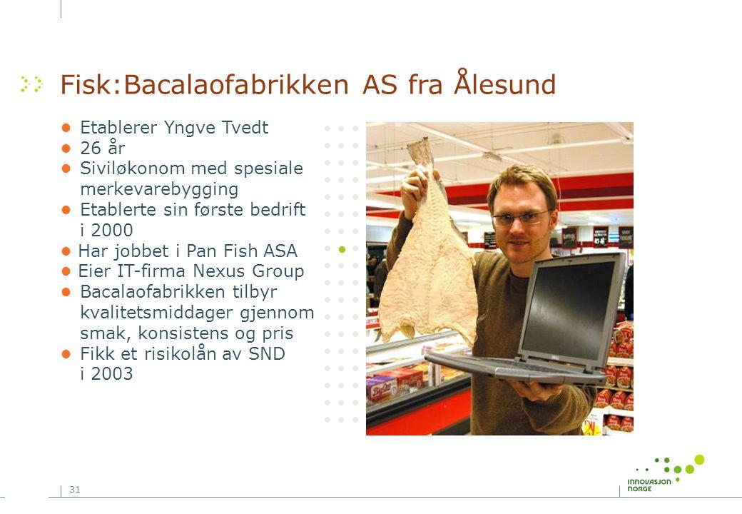Fisk:Bacalaofabrikken AS fra Ålesund
