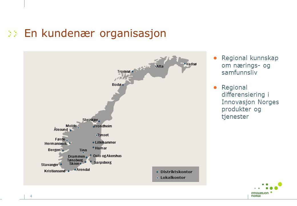 En kundenær organisasjon