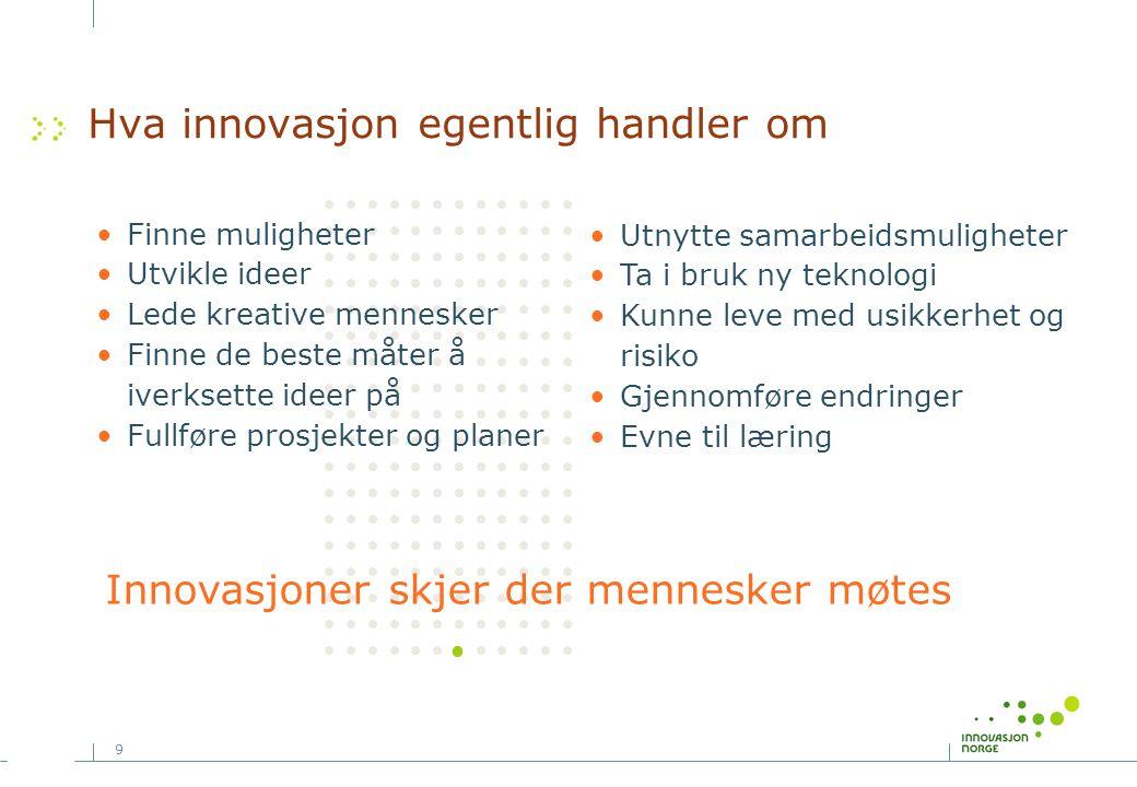 Hva innovasjon egentlig handler om