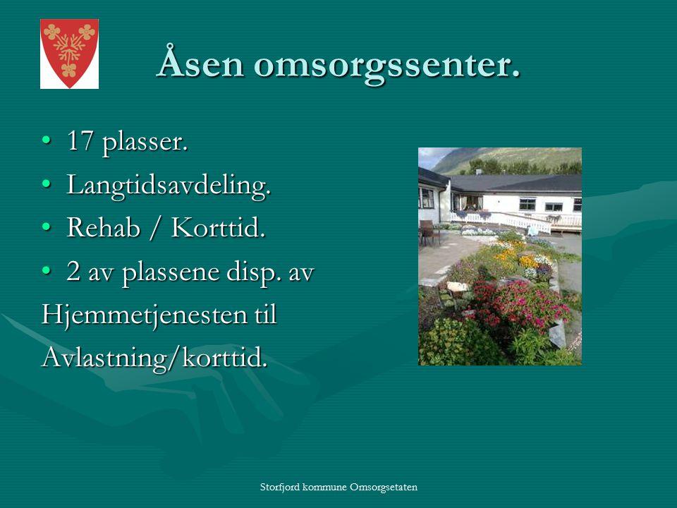 Storfjord kommune Omsorgsetaten