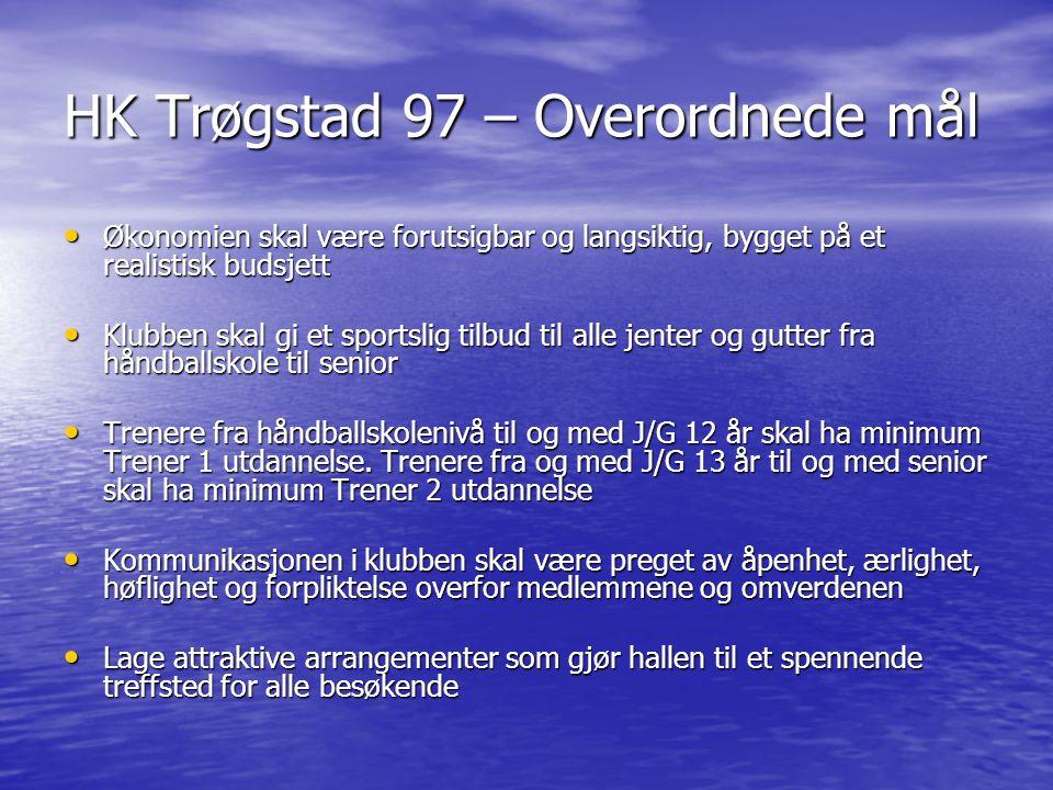 HK Trøgstad 97 – Overordnede mål