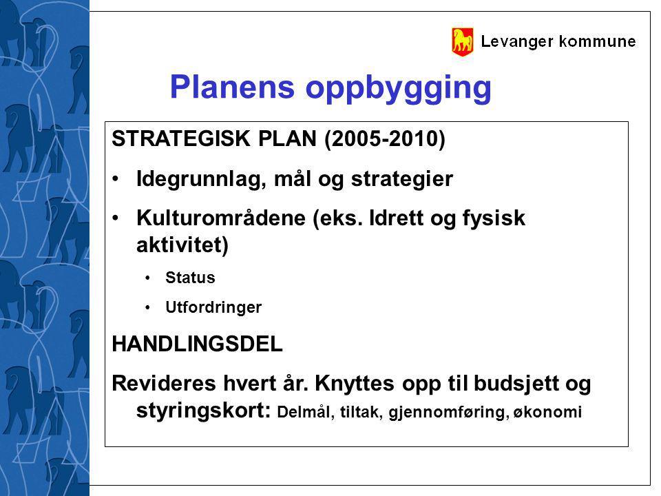 Planens oppbygging STRATEGISK PLAN (2005-2010)