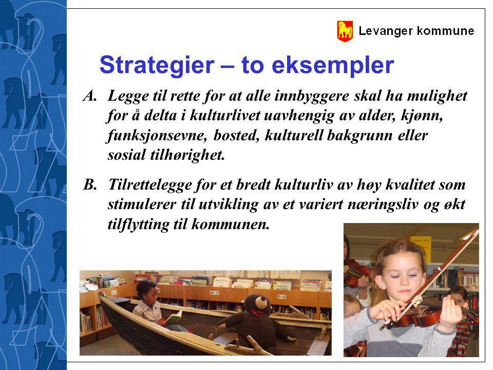 Strategier – to eksempler