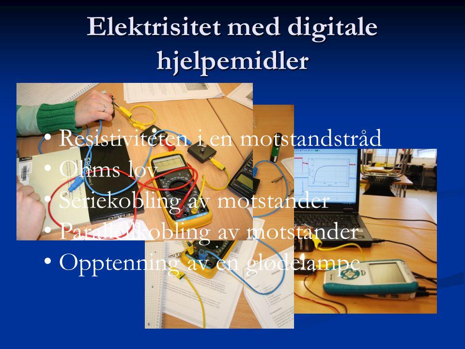 Elektrisitet med digitale hjelpemidler