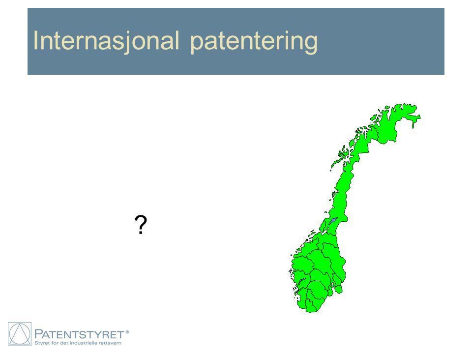 Internasjonal patentering