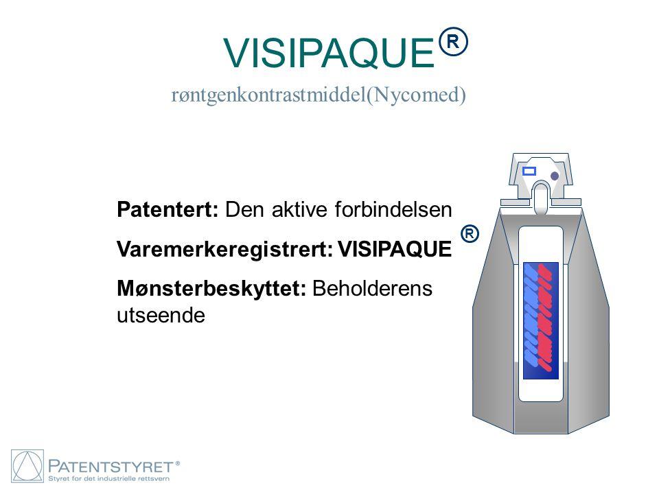 VISIPAQUE røntgenkontrastmiddel(Nycomed)