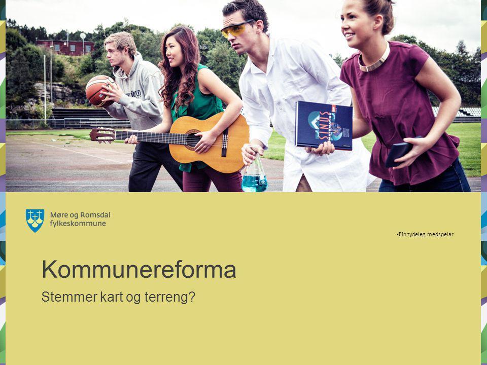 Kommunereforma Stemmer kart og terreng