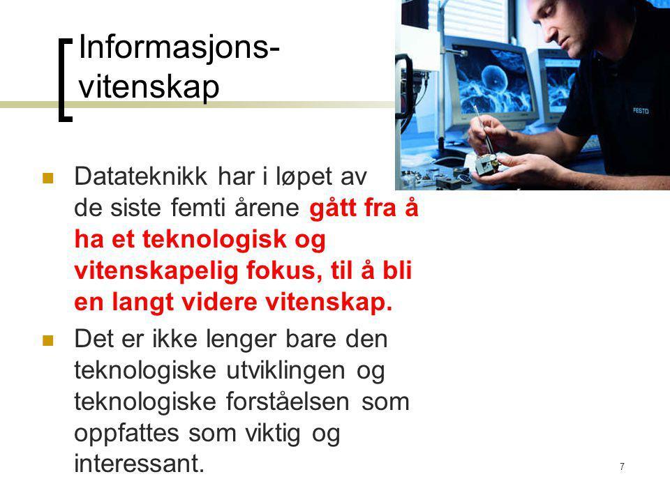 Informasjons- vitenskap