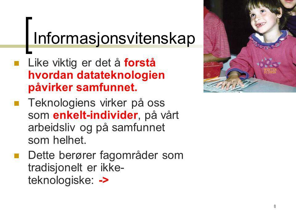 Informasjonsvitenskap