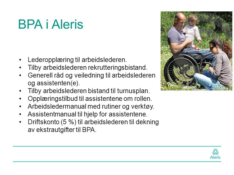 BPA i Aleris Lederopplæring til arbeidslederen.
