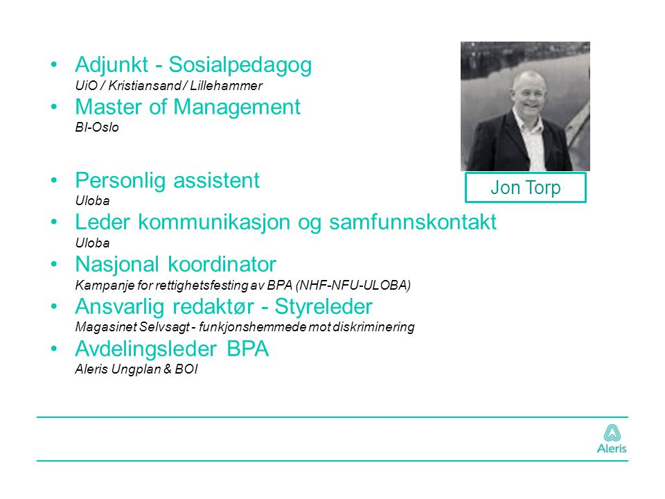 Adjunkt - Sosialpedagog UiO / Kristiansand / Lillehammer
