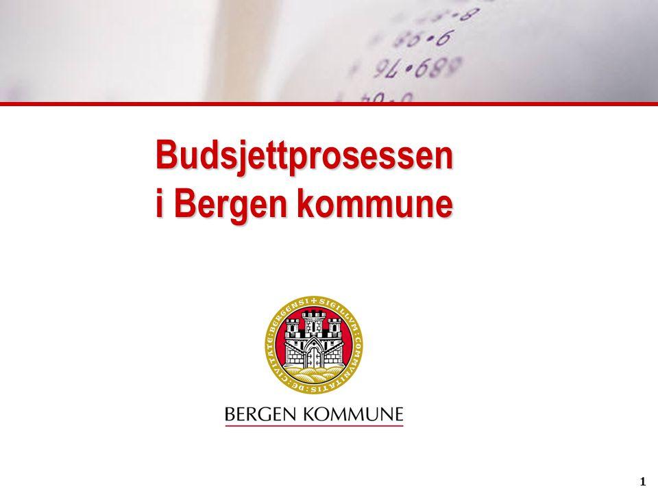 Budsjettprosessen i Bergen kommune