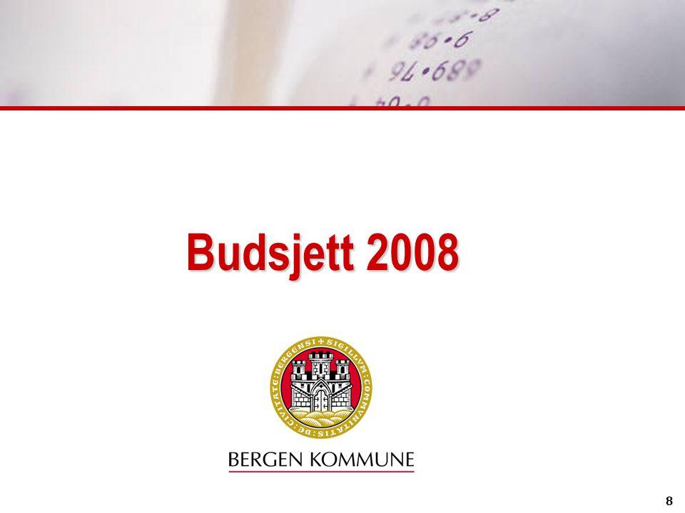 Budsjett 2008 8