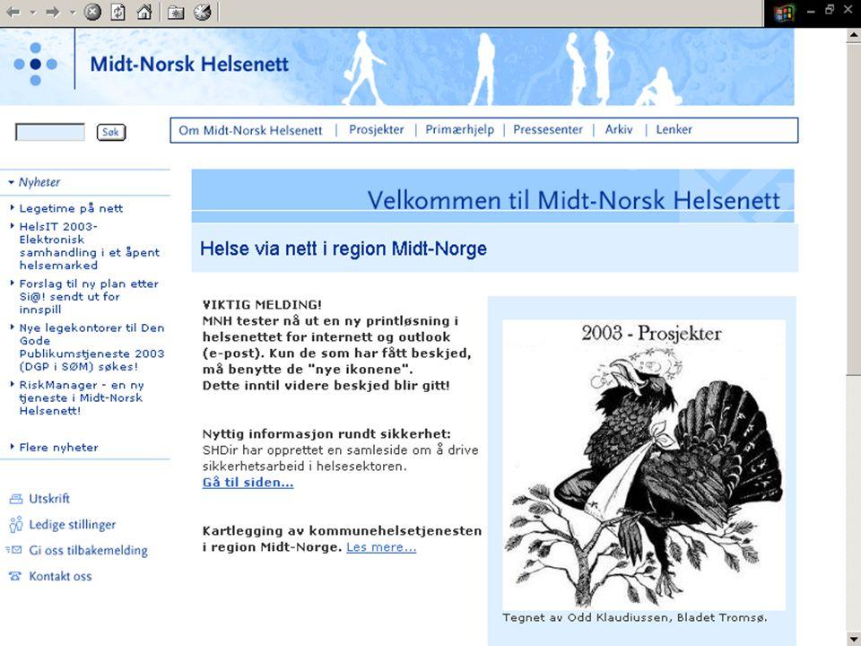 Midt-Norsk helsenett