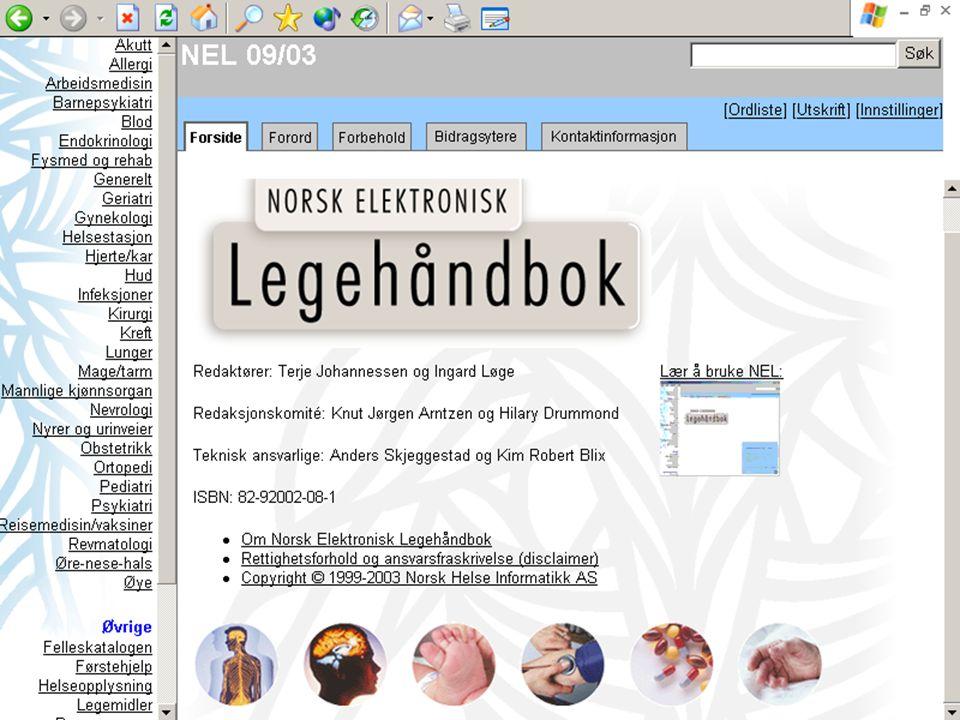 Norsk elektronisk legehåndbok
