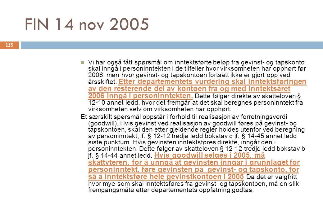 FIN 14 nov 2005