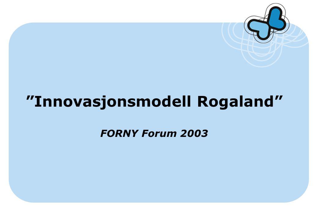 Innovasjonsmodell Rogaland