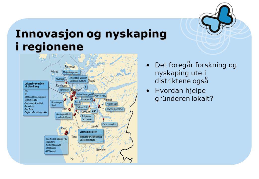 Innovasjon og nyskaping i regionene