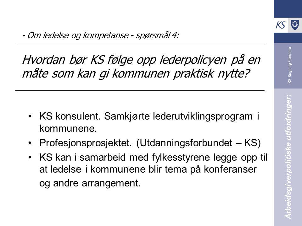 KS konsulent. Samkjørte lederutviklingsprogram i kommunene.