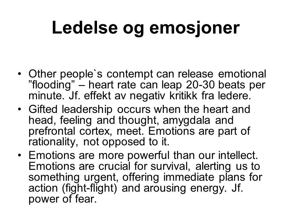 Ledelse og emosjoner