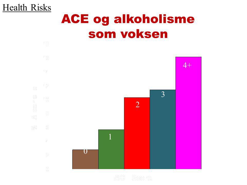 ACE og alkoholisme som voksen