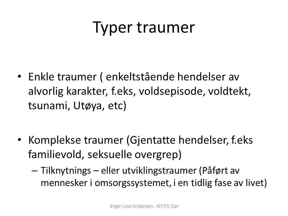 Inger Lise Andersen - RVTS Sør
